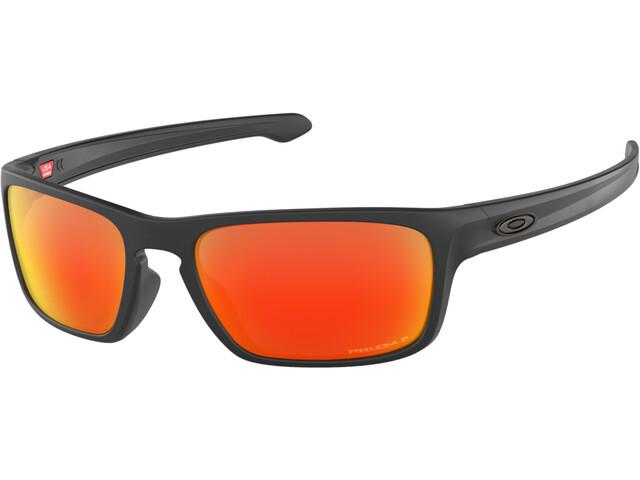 Oakley Sliver Stealth Pyöräilylasit, matte black/prizm ruby polarized